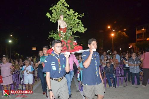 Terceiro dia da Festa de São Sebastião em Ipu