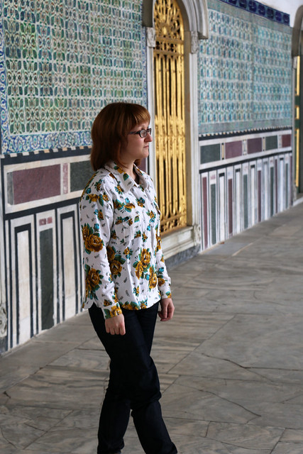 Capital Chic Patterns Cuba Libre Shirt