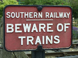 Beware of Trains | by Richard and Gill