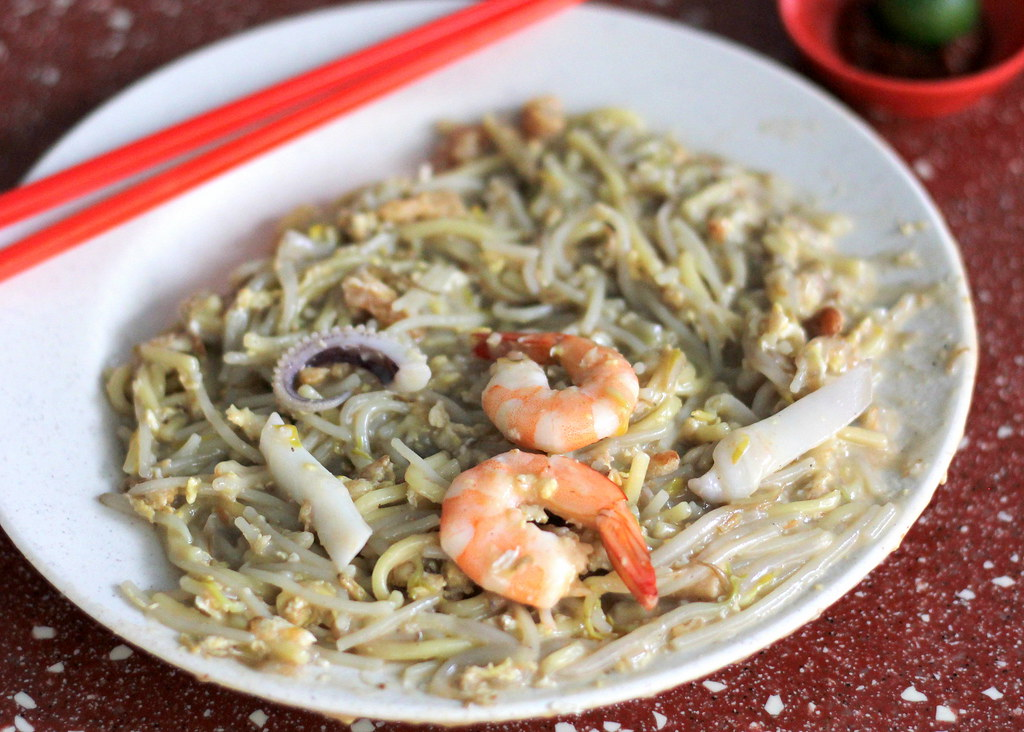 Tian Tian Lai (Come Daily) Fried Hokkien Prawn Mee