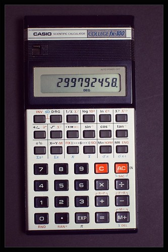 CASIO COLLEGE fx-100 (circa 1985)