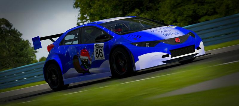 VTCC Spec Series 10 - #5 Zengo Motorsports Honda Civic WTCC 31025177434_ec8f66f828_c