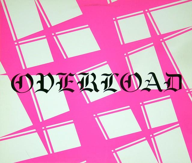 "Overload S/T self-titled 12"" vinyl LP"
