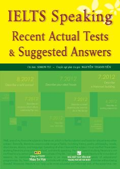 Ielts speaking recent actual test & suggested answers