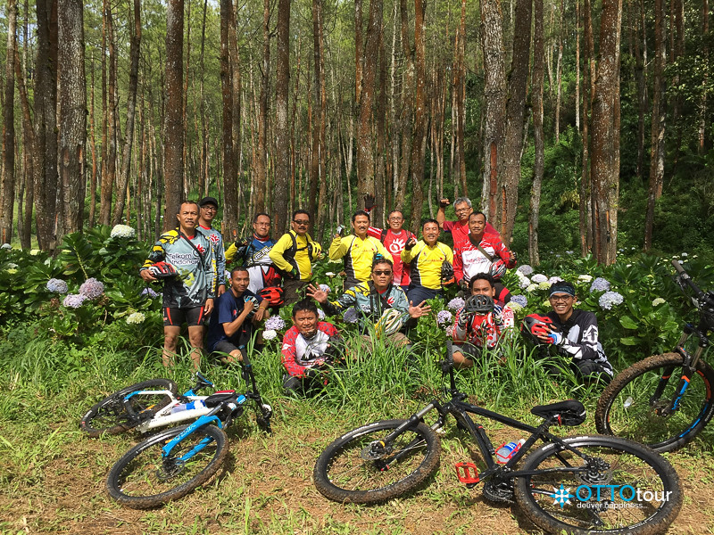 Telkom Cycling on Cangar Trail - January 8, 2017