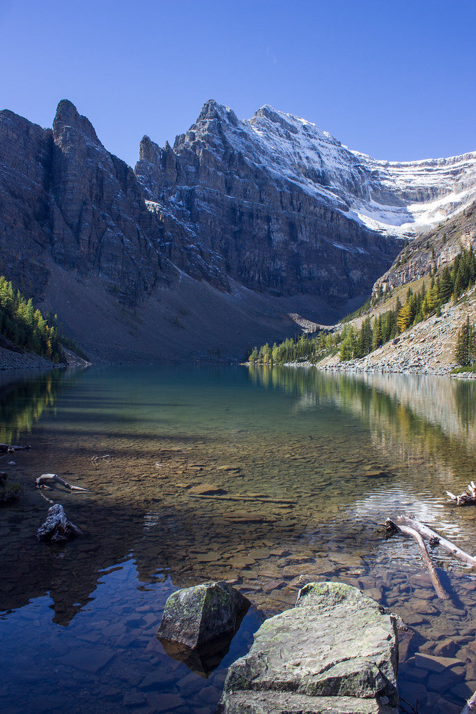 I hiked up a mountain for a brownie | Lake Agnes Teahouse Trail