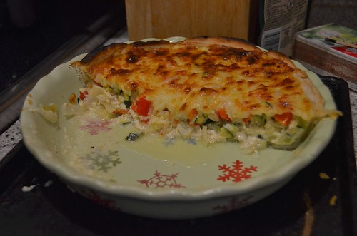 Winging It Veggie Quiche