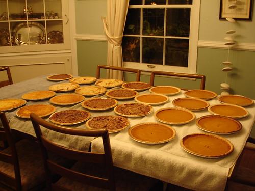 Thanksgiving Pies 2005