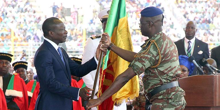 Patrice Talon, nouveau président du Benin prête serment