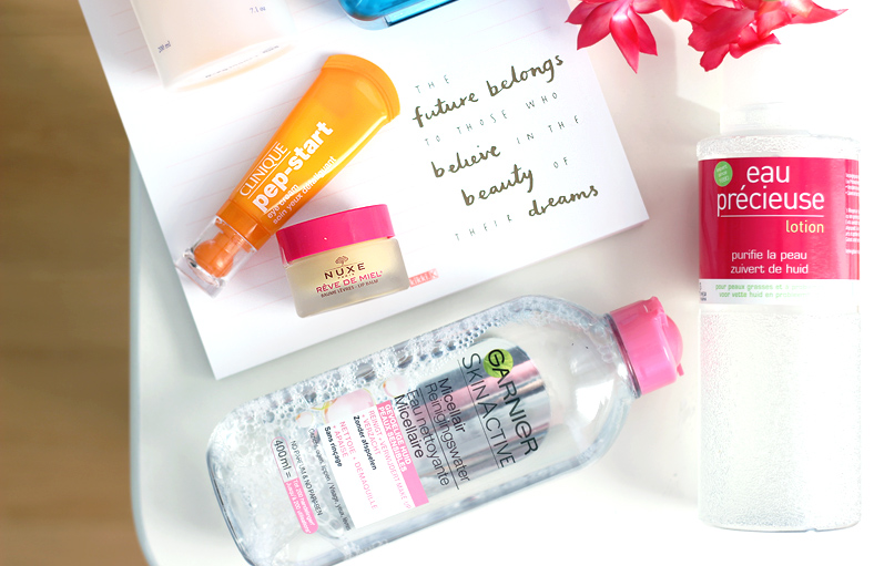 Morning Skin Care Routine Garnier Micellar Water