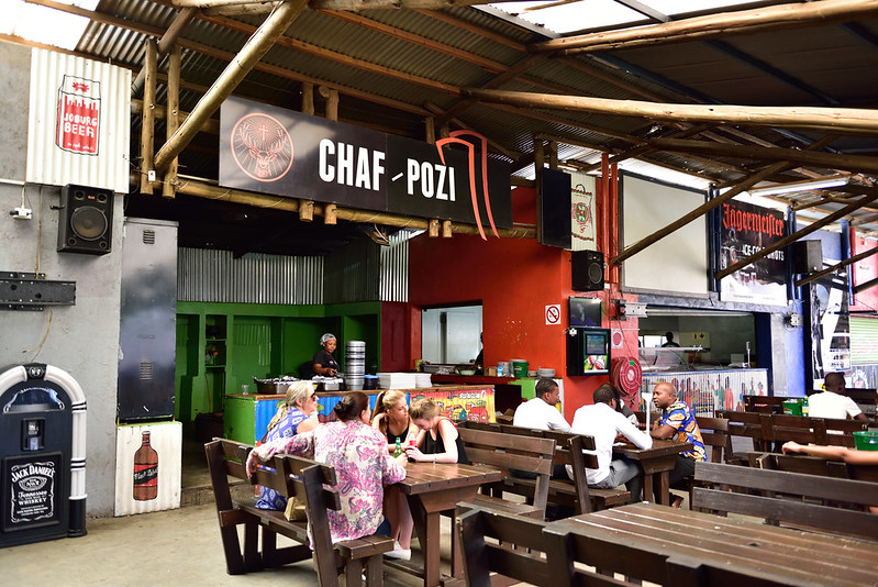 Chaf Pozi, Orlando Towers, Soweto, Gauteng, South Africa