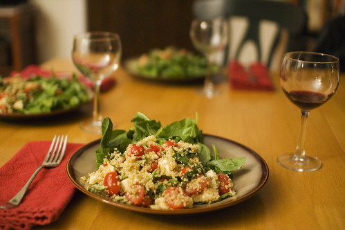 quinoa caprese | by paul goyette