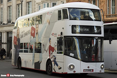 Wrightbus NRM NBFL - LTZ 1695 - LT695 - YouTube CF - Piccadilly Circus 3 - Abellio London - London - 161203 - Steven Gray - IMG_9536
