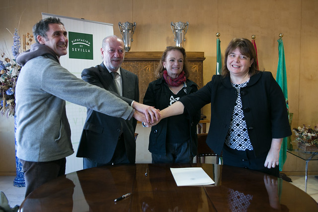 12-221216 Firma Convenio Federación Provincial Ecologista