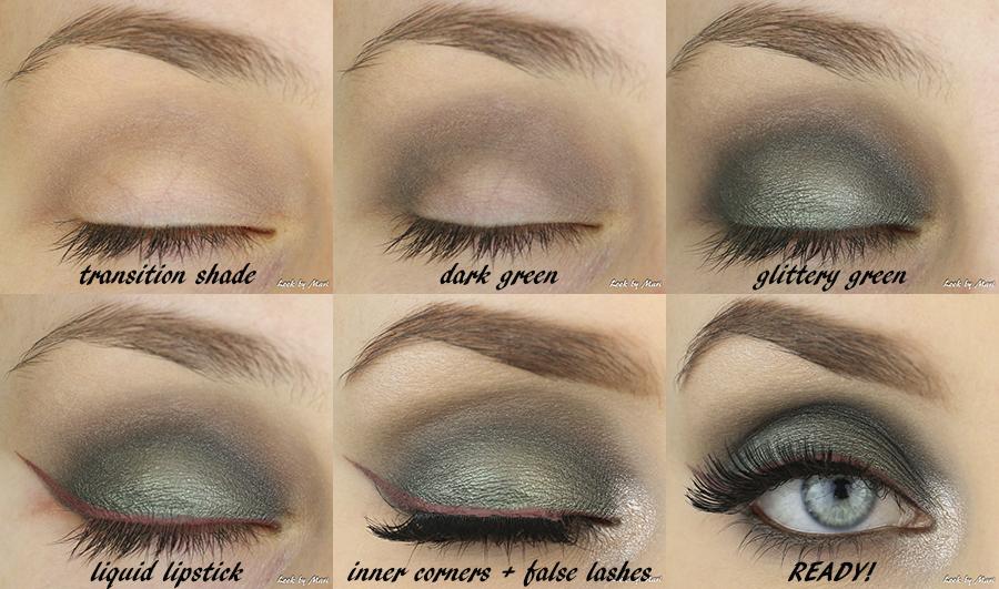 4 green smoky eye tutorial eye makeup tutorial