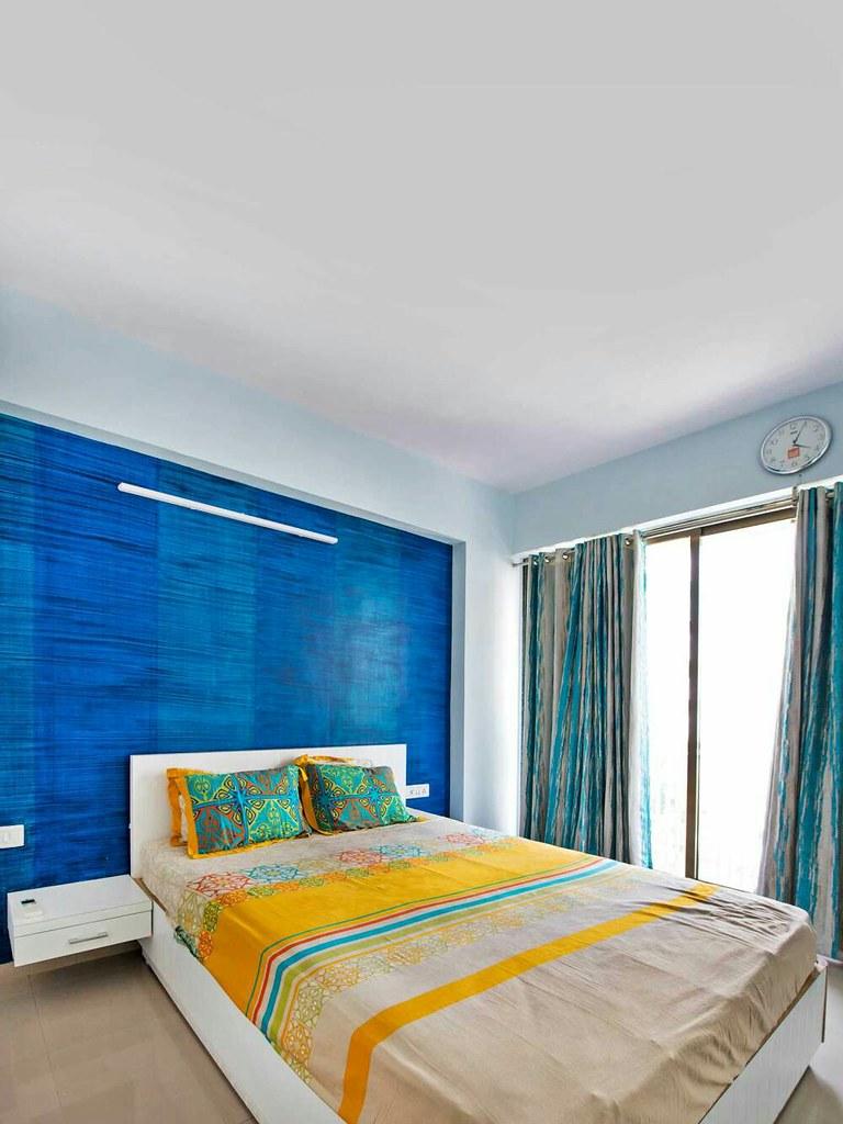 a minimalist bedroom