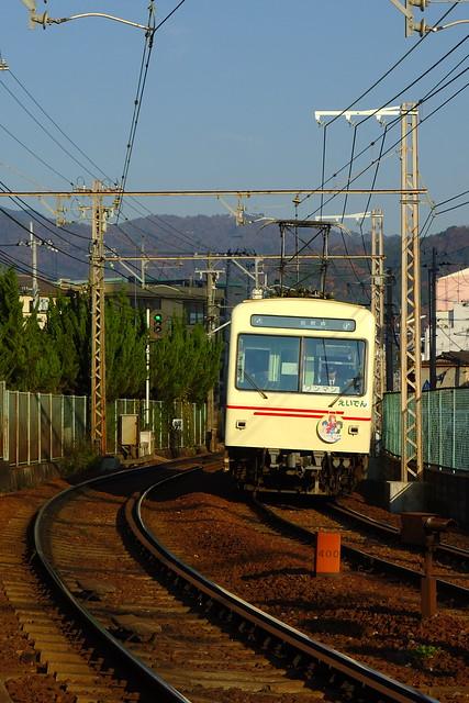 2016/12 叡山電車×きんいろモザイクPretty Days ラッピング車両 #10