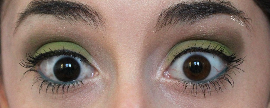 Pantone 2017 Color of the Year Greenery makeup look