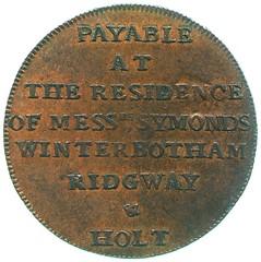 Wyon halfpenny token
