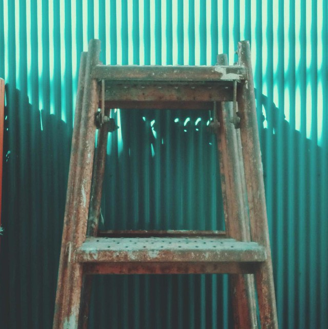 Rusty ladder