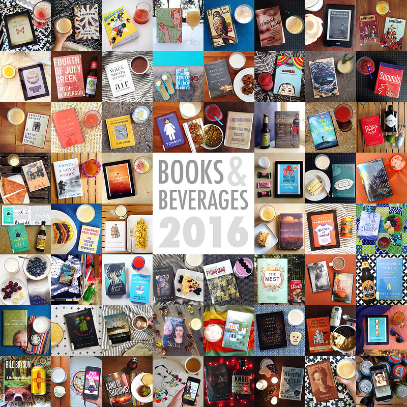 2016 Books and Beverages collage