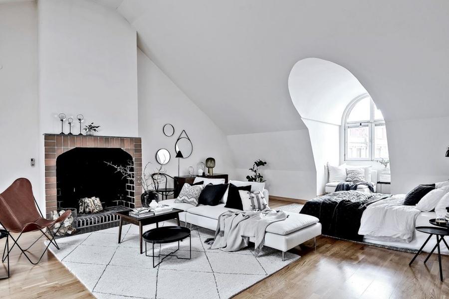 Modern Glamorous Scandinavian Apartment Design Inspiration 2017