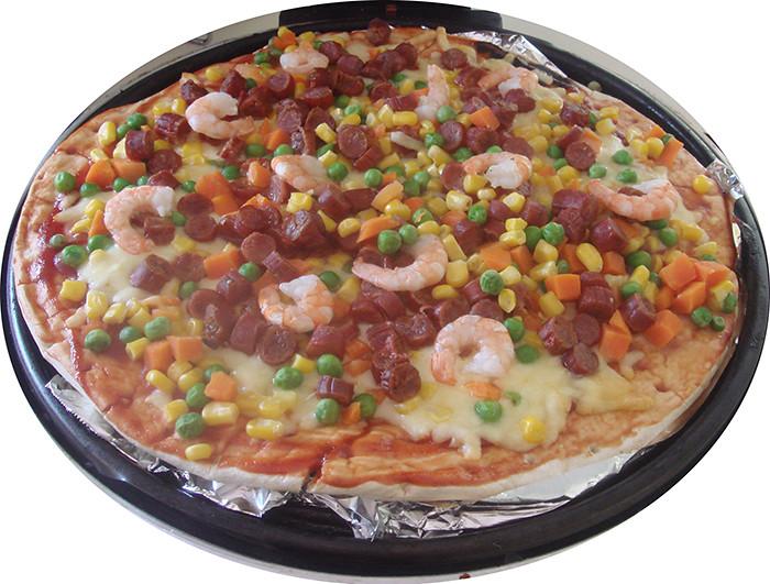 自己做的披萨