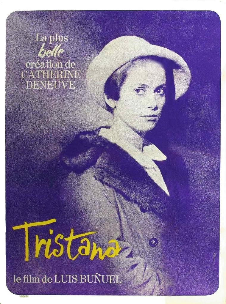 Cartel de Tristana, de Luis Buñuel