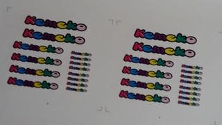 """Kemeko"" stickers"