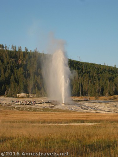 Beehive Geyser in the Upper Geyser Basin, Yellowstone National Park, Wyoming