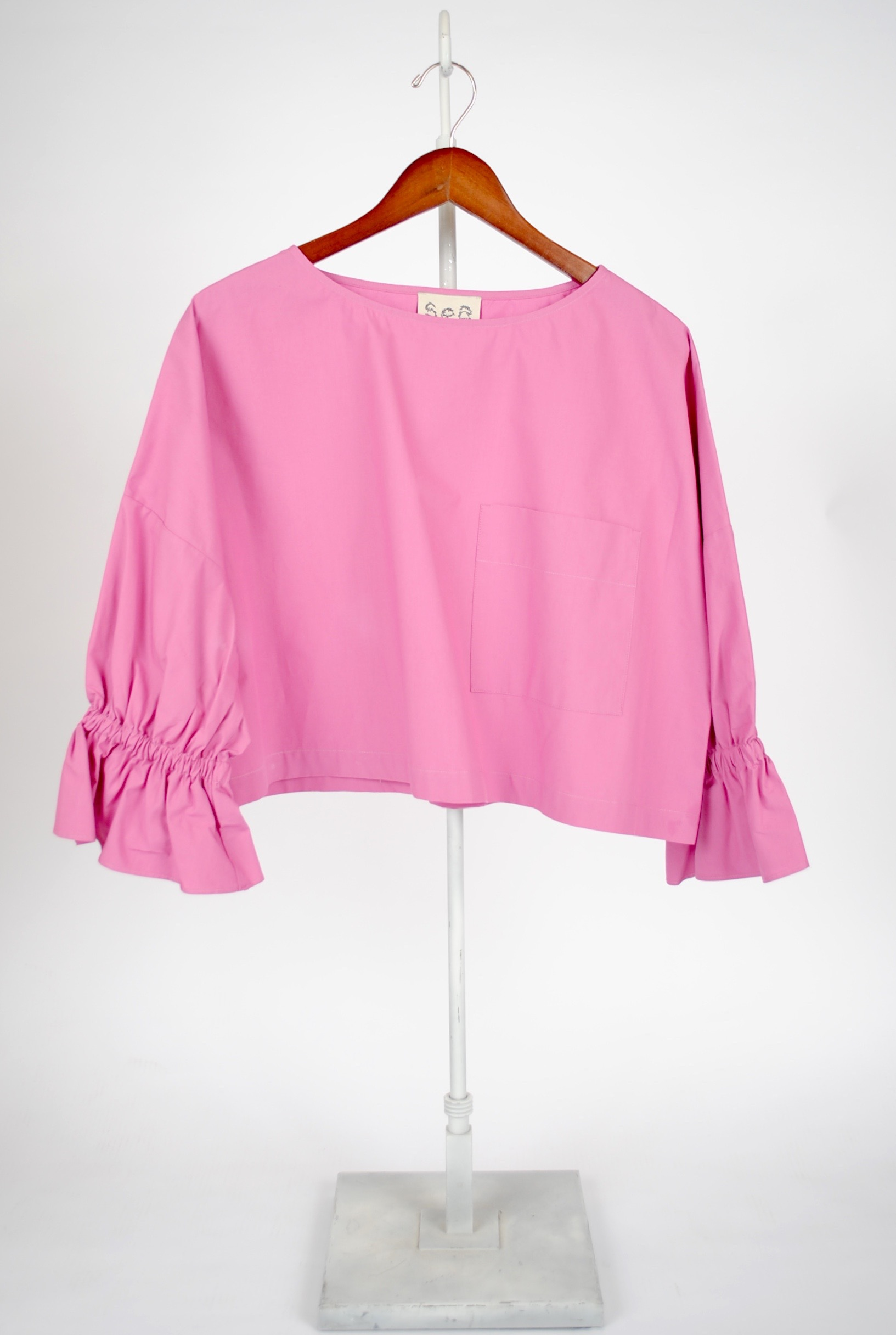 Dolman Sleeve Pocket Top