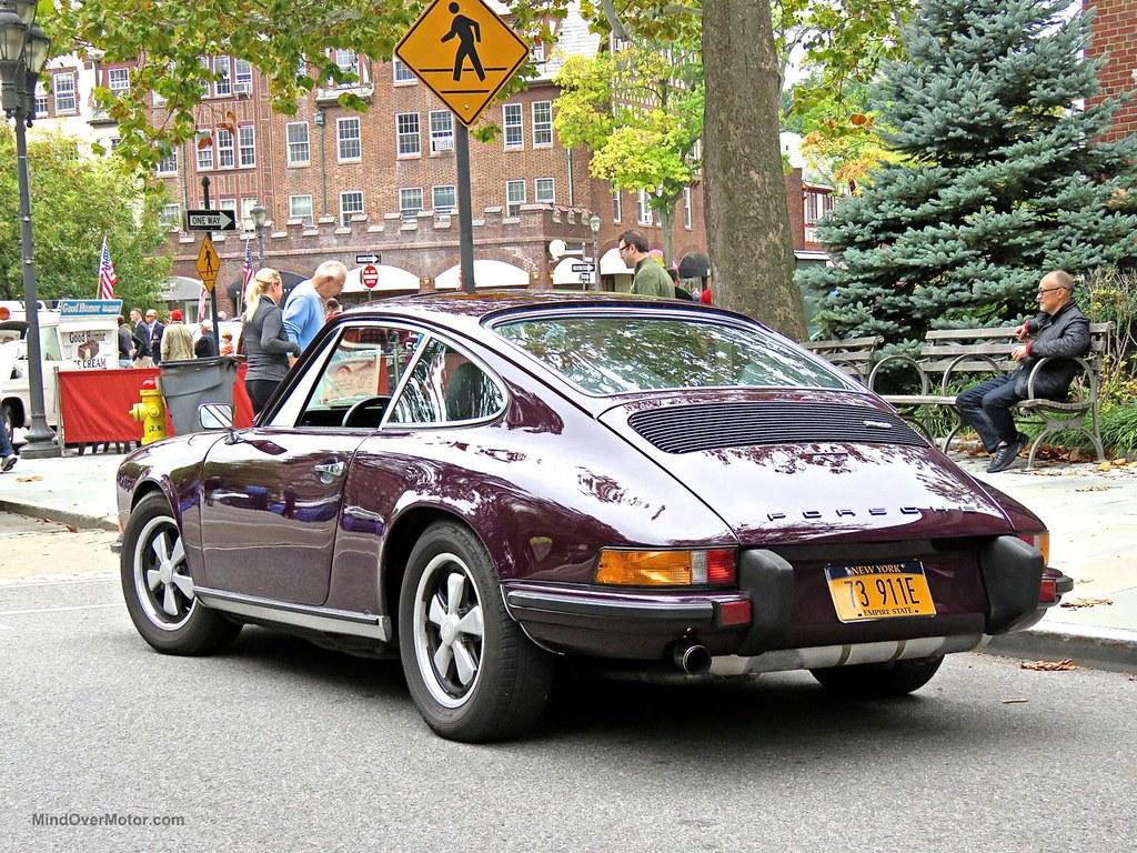 Purple Porsche 911E Scarsdale 5
