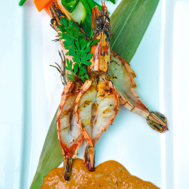 Jojo's Filipino Curry Prawns with Crab Fat Sauce