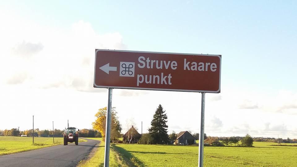 Opintomatka Viron Struve-kohteisiin