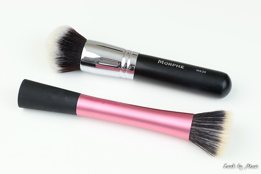 18 morphe brushes m439 foundation brush review meikkivoide sivellin kokemuksia real techniques stippling brush review kokemuksia