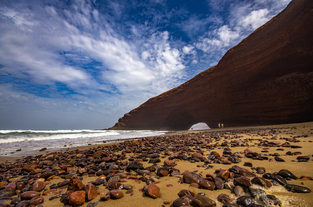 Plage de Legzira II, Morocco, 20150923