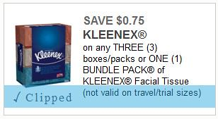 photograph relating to Kleenex Printable Coupon named 0.75 Kleenex 160ct Containers with COupon This 7 days at Meijer