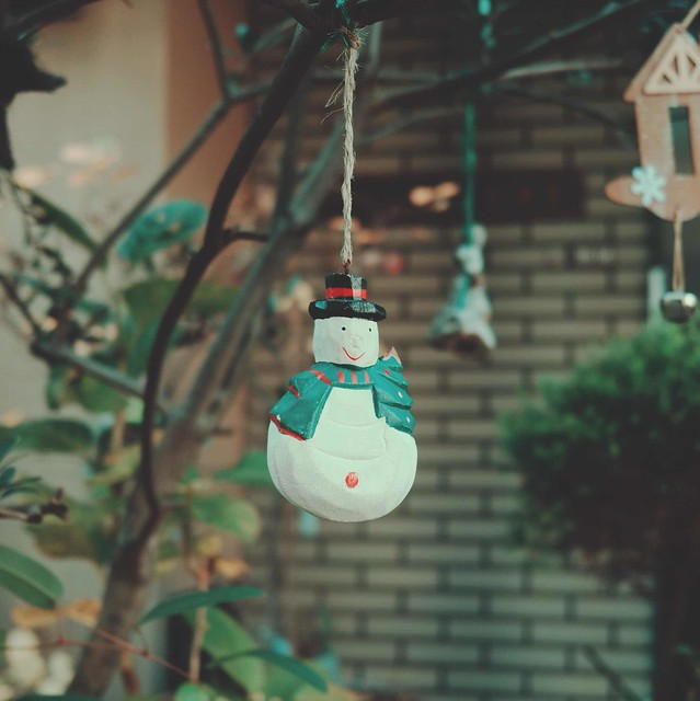 Mini snowman decoration
