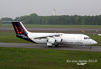 Brussels Airlines AvroRJ100 (A.Ruiz)