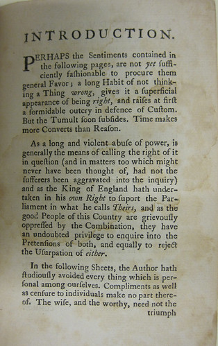 summary of common sense by thomas This lesson looks at thomas paine and at some of the ideas presented in his  pamphlet common sense, such as national unity, natural rights,.