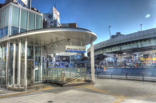 Sakuragawa Station on DEC 02, 2016