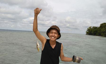 mancing di pulau opak