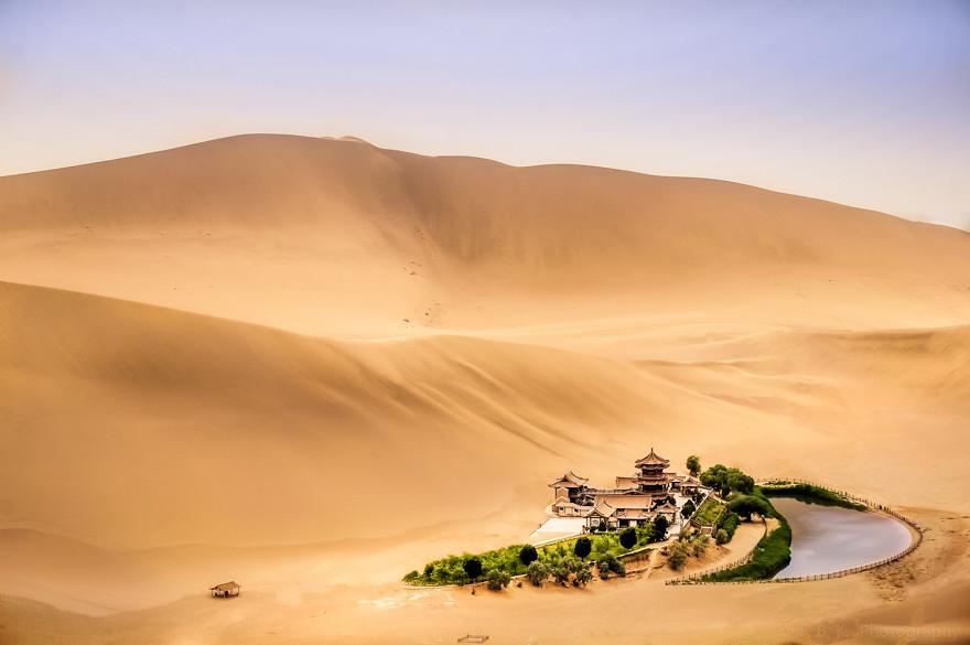 Oasis - Gobi Desert