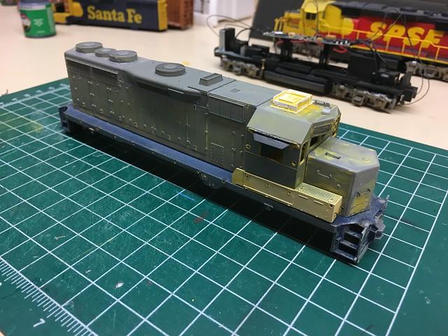 SPSF Meadow Sub: Kodachrome GP35 Custom Paint Project