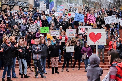 Portland Not Up For Grabs Protest Nov. 19