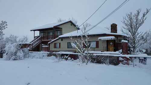 Fernley House in the Snow