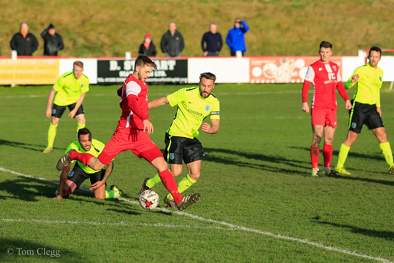 Shildon AFC 3 v 1 Bishop Auckland FC ENL1 26th Dec 2016