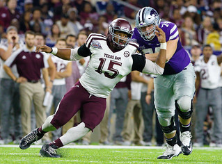 NCAA Football 2016: Texas Bowl - Texas A&M vs Kansas State DEC 28
