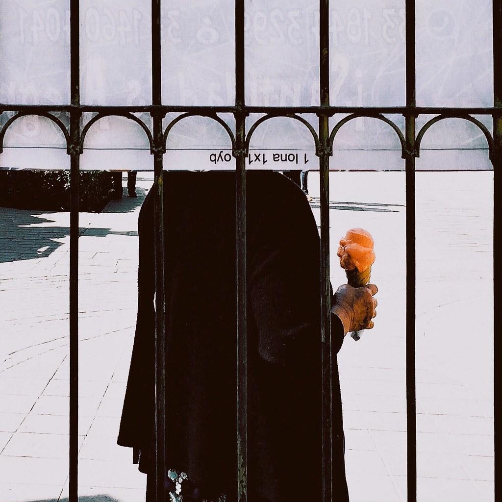 Tangerine ice cream.