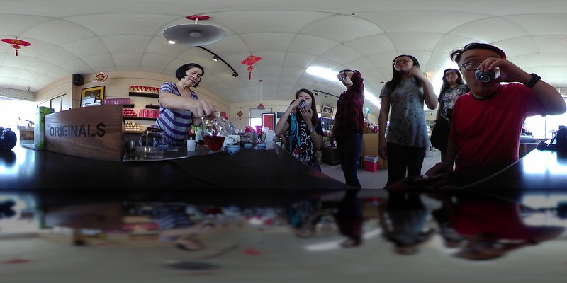 360fly: Taitung drinking tea